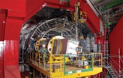 Большой адронный коллайдер - тороидальная установка