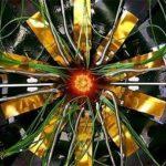 Пучки протонов в кольце Большого адронного коллайдера
