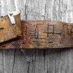 В Великом Новгороде найден фрагмент берестяной грамоты