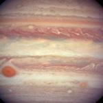 Juno начал передачу данных о Большом красном пятне Юпитера