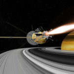 NASA показало последний снимок Cassini