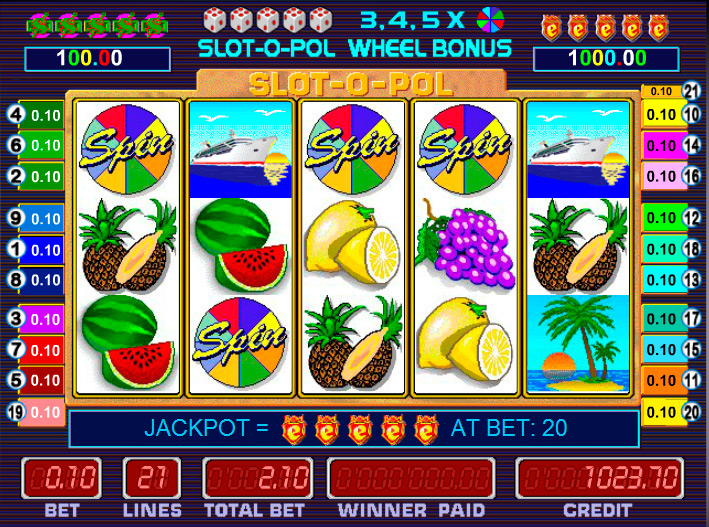 автомат Slot-o-pol Delux
