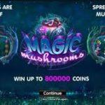 Игровой слот на деньги «Волшебные Грибы» поражает красотой
