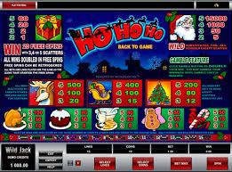 игрового автомата Ho Ho Ho