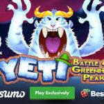 Игра на деньги от видео слота «Yeti Battle of Greenhat Peak»